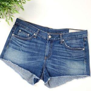 Rag & Bone | Distressed Cut off denim shorts